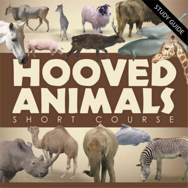 Hooved Animals- Short Course